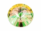 Swarovski 1122 Rivoli 14mm LUMINGREEN F