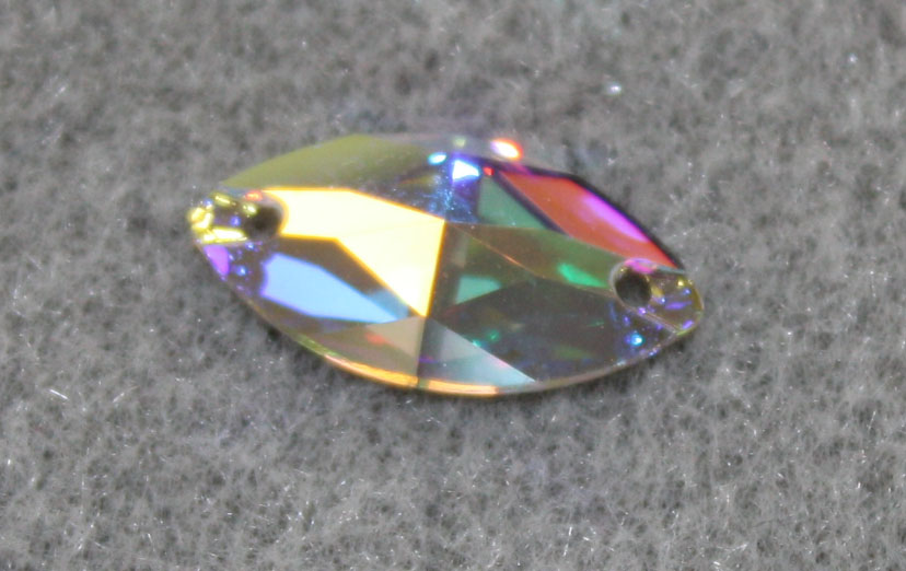 Swarovski Element 3223 Navette Crystal AB12x6mm per stone